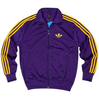 NWT %ADIDAS ORIGINALS FIREBIRD PURPLE TRACK JACKET L