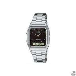 Casio Ana Digi Dual Time Watch with Alarm Stop Watch