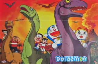 Doraemon Robot Japanese Cartoon Poster Anime Dinosaur