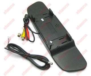 CAR 3.5 LCD REARVIEW MIRROR MONITOR BACKUP CAMERA SET