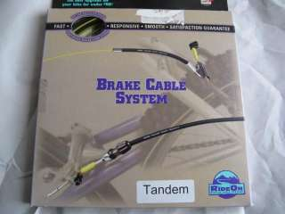 Vintage Gore ride on tandem bicycle bike brake cable housing New Old