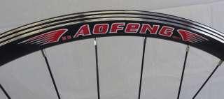 Fixed Gear Track Bike Single Speed Wheel Set Bicycle Rims Black