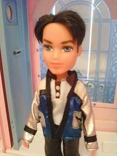 Boyz Boy Bratz Doll Cade Black Hair Blue Eyes Clothes Shoes Rare 2004