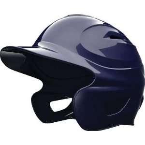 Solid Color Batting Helmet   Navy Blue   Baseball Batting Helmets