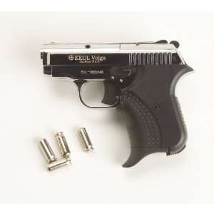 com Volga (Nickel)   Blank Firing Replica Gun   9mm Everything Else