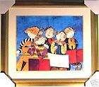 Rodo Boulanger THE PRELUDE Custom Framed Litho ART