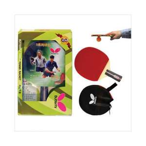 Butterfly 7.50 Spin Penhold Table Tennis Racket Set Game Room
