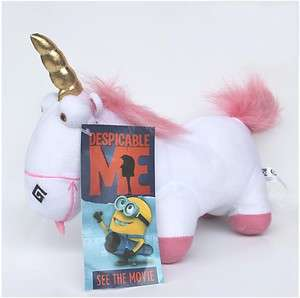 Despicable Me Character Plush Toy Doll Fluffy Unicorn Stuffed Animal