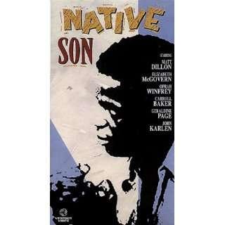 Native Son: Matt Dillon, Elizabeth McGovern, Oprah Winfrey