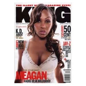 2005 Issue (Meagan Good Cover) (Single Issue): King Magazine: Books