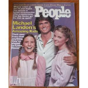 11, 1978: Michael Landon, Melissa Gilbert & Melissa Sue Anderson