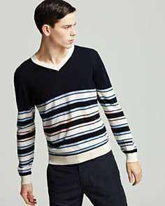 MARC BY MARC JACOBS Fraternity Stripe Sweater