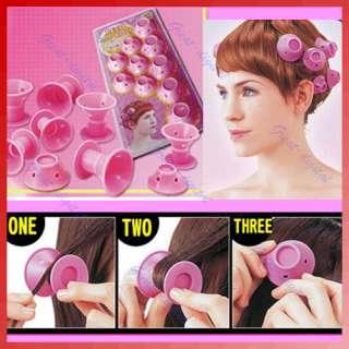 Soft Hair Care DIY Peco Roll Hair Style Roller Curler