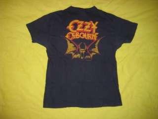 Vtg 1982 OZZY OSBOURNE T SHIRT tour black sabbath tee