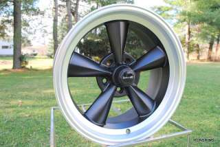 RIDLER RACING HOTROD 17X9.5 FLATBLACK SPOKE CHEVY GM WHEELS FORD MOPAR