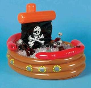 Party Ice Bucket Drinks Cooler, Inflatable Blow up Pool Toy