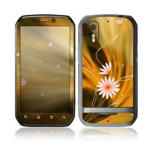 Flame Flowers Design Protective Skin Decal Sticker for