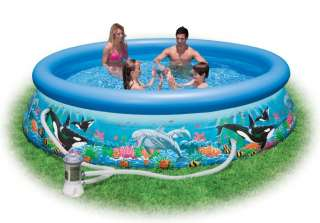 INTEX 12 x30 Ocean Reef Easy Set Swimming Pool & Pump 078257398799
