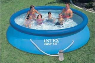 INTEX 12 x 30 Easy Set Swimming Pool & Filter Pump 078257398041