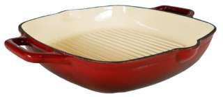 Enamel Cast Iron Deep Grill Pan 12. on Sale
