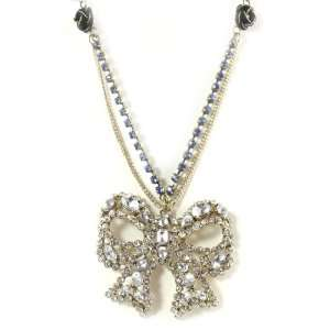 Betsey Johnson Jewelry Iconic Vintage Heart Large Bow