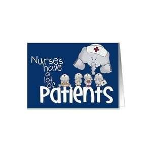 Nurses have a lot of patients Nurse, Nurses Day, Holiday