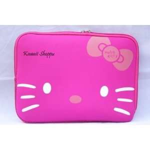14 Lovely Pink Hello Kitty Style Laptop Case/Bag Electronics