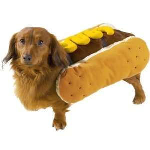 Casual Canine Polyester Hot Diggity Dog Costume, Medium