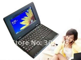 inch android VIA8650 mini laptop notebook netbook,Multi colors,Best