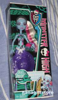 NIB Monster High Doll Skull Shores Abbey Bominable VHTF