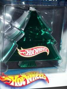 2002 HOT WHEELS HOLIDAY DECORATION ORNAMENT SCOOTER MIP