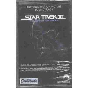 Star Trek III The Search For Spock Soundtrack Cassette
