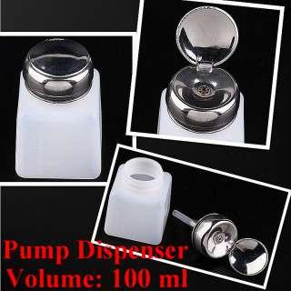 2pc Pump Dispwnser Bottle Nail Art Makeup Tool J0212 1
