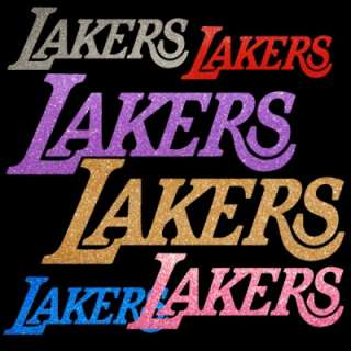 Los Angeles Lakers 4 inch Auto Window Sticker Decal NBA