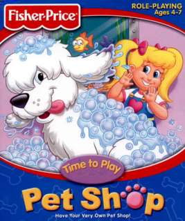 o Play Pe Shop PC CD care for dogs fish grooming animal game |