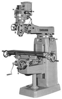 INDUMA 1 S Vertical Turret Milling Machine Parts Manual