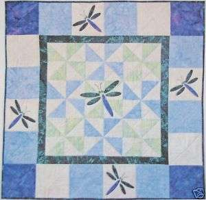 DRAGONFLY QUILT WALL HANGING KIT W/ PATTERN