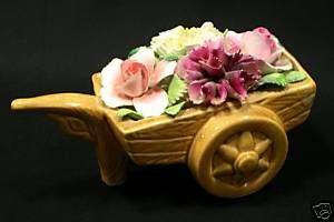 Bouquet Cart Thorley English Bone China Staffordshire