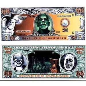 Halloween $66 Tombstone Scary Monster $$ Case Pack 100