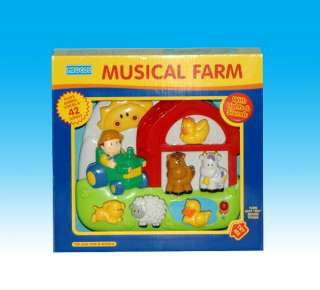 Megcos Toys Musical Farm Player Toy ~BRAND NEW~