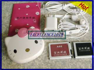 HELLO KITTY FLIP CELL PHONE TOUCH SCREEN MIRROR MOBILE