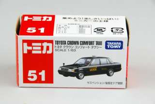 TOMY TOMICA Toyota Crown Comfort Japan Taxi Diecast Model Car Toy