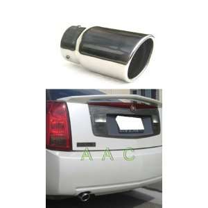 Stainless steel exhaust tip w/ mirror polish finish   Cadillac CTS V6