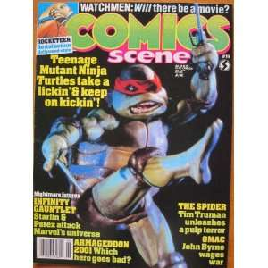 Comics Scene #19, June 1991: Starlog Communications: Books
