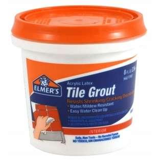 Elmers xacto .50 Pint Acrylic Latex Tile Grout E870
