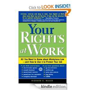 at Work (Your Rights at Work: All You Need to Know about Workplace